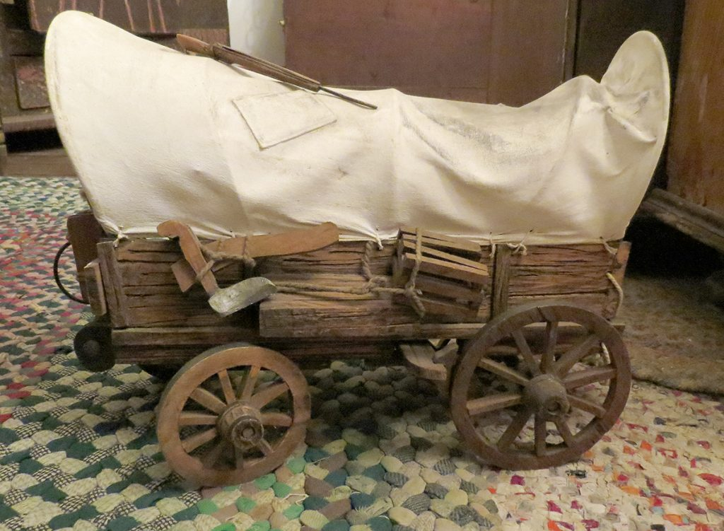 Conestoga Wagon at the Cobbler Shop